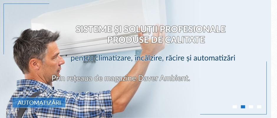 Automatizari ventilatie, sisteme industriale aer